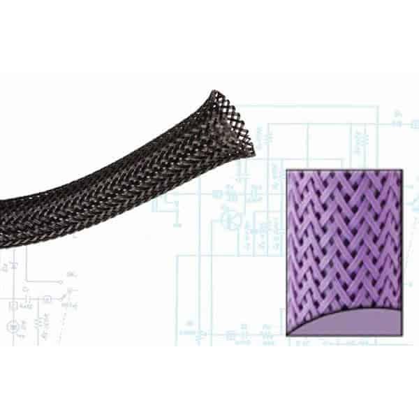 1/8″ Purple Ultra Wrap Wire Loom – 250 Feet