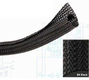 1 1/2″ Black Ultra Split Wrap Wire Loom – 50 Feet