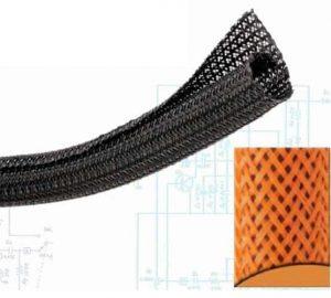 1/8″ Orange Ultra Split Wrap Wire Loom – 250 Feet
