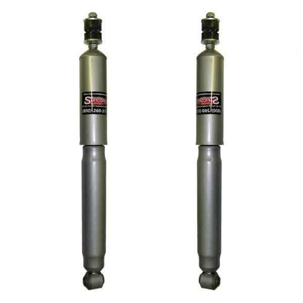 2002-2012 Toyota 4Runner Rear Suspension Electronic to Passive Gas Shocks Conversion Kit