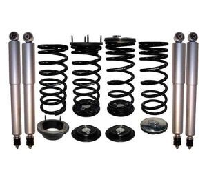 1995-2002 Land Rover Range Rover Deluxe 4Wheel Suspension Air Bag to Coil Spring Conversion & Gas Shocks Kit