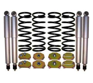 1995-2002 Land Rover Range Rover Regular 4Wheel Suspension Air Bag to Coil Spring Conversion & Gas Shocks Kit