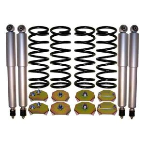 1995-2002 Land Rover Range Rover Regular 4Wheel Suspension Air Bag to Coil Spring Conversion & Gas Shocks Kit