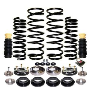 2003-2005 Land Rover Range Rover 4Wheel Suspension Air Bag to Coil Spring Conversion & Warning Light Removal Kit