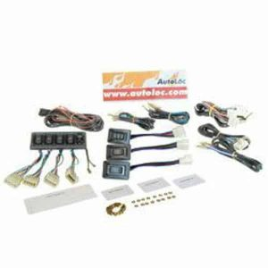 Power Window Switch Wiring Kit (7 Switches, 1 Window Lock Switch)
