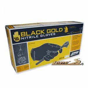 Black Gold Detailing Gloves