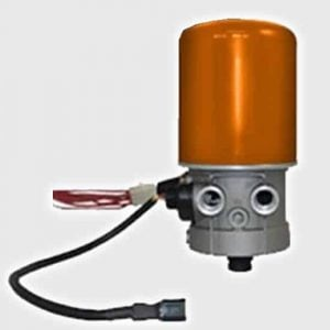 Warmed Air Dryer/Water Trap for Air Management System