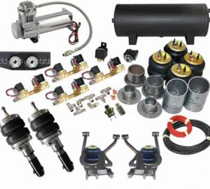 2007-2013 GMC Acadia, Traverse, Outlook, Enclave Complete Air Suspension Kit