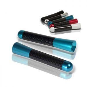 Antenna Carbon Fiber 3 Inch – Blue