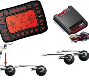SMARTRIDE Multi-Function Digital Air Ride Suspension Controller (Controller & Mechanical Sensors)