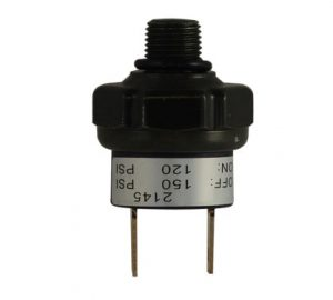 120psi-ON & 150psi-OFF Air Pressure Switch – 1/4″ NPT