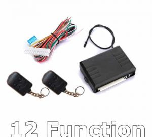 12 Function Wireless Remote Module with Dual Key Fobs