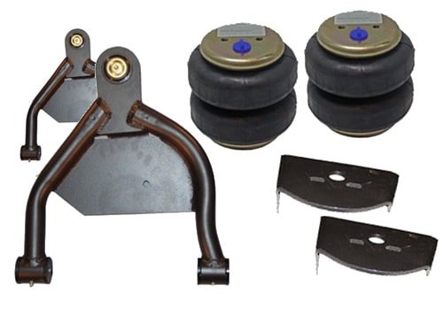 1970-1981 Chevrolet Camaro, Firebird Front Air Suspension, Custom A-Arms / Brackets (no fittings)