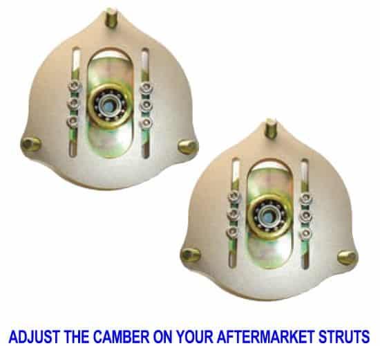 Adjustable Upper Strut Camber Plates (Pair)