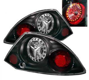 00-02 Mitsubishi Eclipse L.E.D. Tail Lights – Black