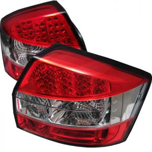 02-05 Audi A4 LED Altezza Tail Lights – Red & Clear