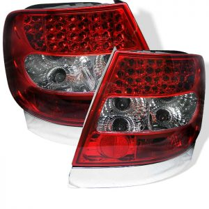 96-01 Audi A4 LED Altezza Tail Lights – Red & Clear