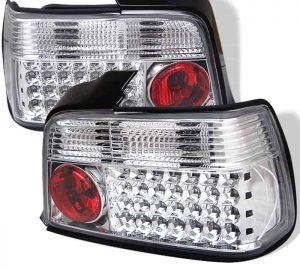 92-98 BMW E36 3-Series 4DR LED Tail Lights – Chrome