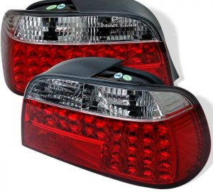 95-01 BMW E38 7-Series LED Tail Lights – Red & Clear