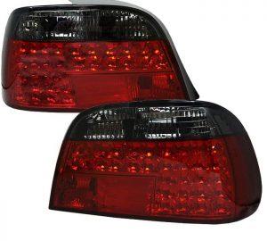 95-01 BMW E38 7-Series LED Tail Lights – Red Smoke
