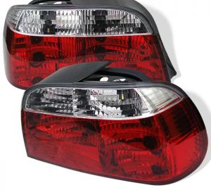 95-01 BMW E38 7-Series Crystal Tail Lights – Red Clear