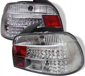 97-03 BMW E39 5-Series LED Tail Lights – Chrome