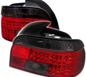 97-03 BMW E39 5-Series LED Tail Lights – Red Smoke
