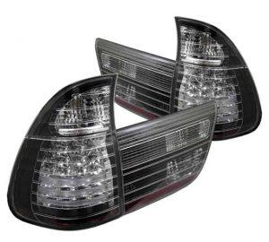00-05 BMW E53 X5 4PCS LED Altezza Tail Lights – Black