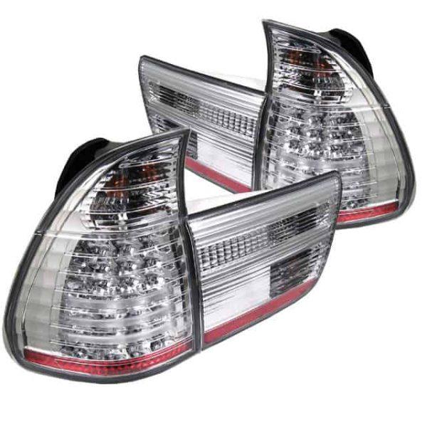 00-05 BMW E53 X5 4PCS LED Altezza Tail Lights – Chrome