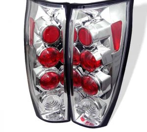 02-05 Chevy Avalanche Altezza Tail Lights – Chrome
