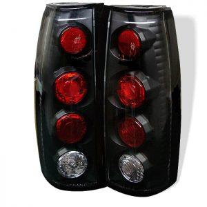 88-98 Chevy/GMC C10 Black Euro Altezza Tail Lights – Black