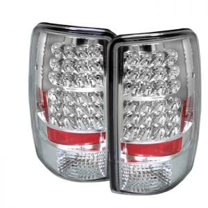 00-06 GMC Denali LED Altezza Tail Lights – Chrome