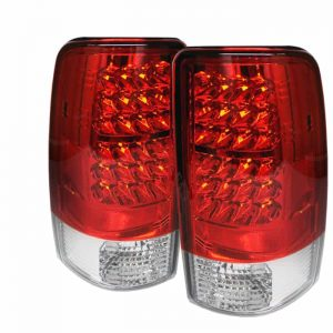 00-06 GMC Denali LED Altezza Tail Lights – Red Clear