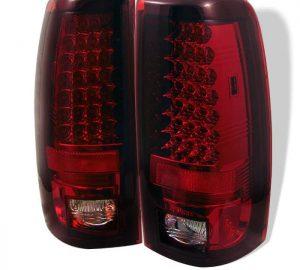 03-06 Chevy Silverado, GMC Sierra 1500/2500/3500 LED Tail Lights – Red