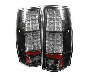 07-09 Chevy Suburban / Tahoe / GMC Yukon / Denali LED Tail Lights – Black
