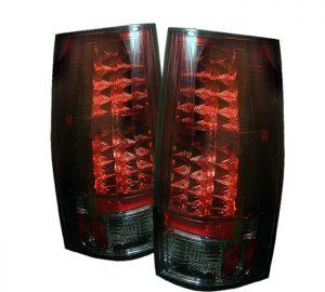 07-09 Chevy Suburban / Tahoe / GMC Yukon / Denali LED Tail Lights – Red Smoke