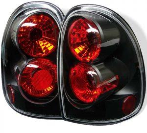 96-00 Dodge Caravan / 98-03 Durango Altezza Tail Lights – Black