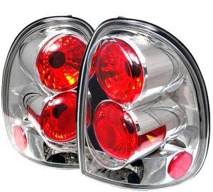 96-00 Dodge Caravan / 98-03 Durango Altezza Tail Lights – Chrome