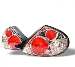 00-02 Dodge Neon Altezza Tail Lights – Chrome