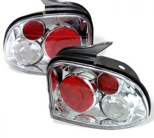 95-99 Dodge Neon Altezza Tail Lights – Chrome