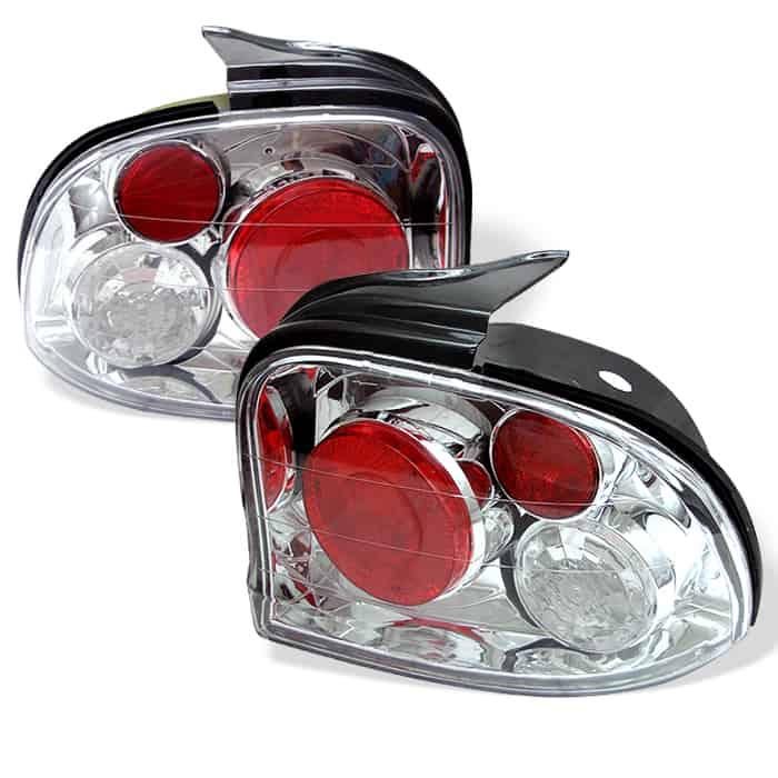 95-99 Dodge Neon Altezza Tail Lights - Chrome