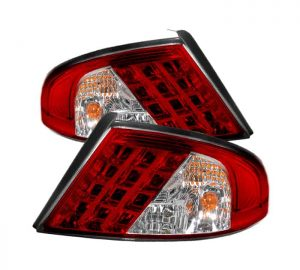 01-06 Dodge Stratus LED Altezza Tail Lights – Red Clear