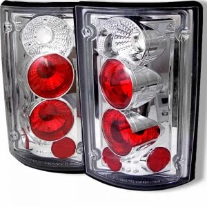 00-04 Ford Excursion Altezza Tail Lights – Chrome