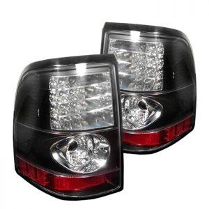 02-05 Ford Explorer Altezza LED Tail Lights – Black
