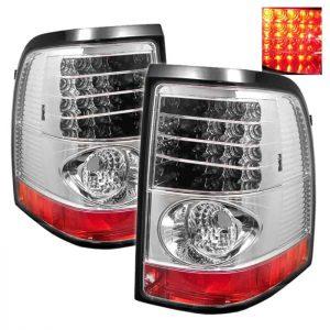 02-05 Ford Explorer Altezza LED Tail Lights – Chrome