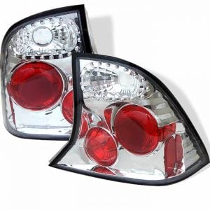 00-04 Ford Focus 4DR Altezza Tail Lights – Chrome