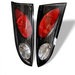 00-04 Ford Focus 5DR Altezza Tail Lights – Black