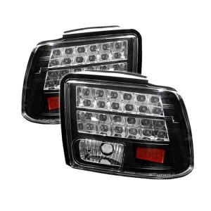 99-04 Ford Mustang LED Altezza Tail Lights – Black