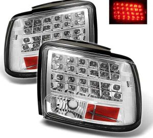 99-04 Ford Mustang LED Altezza Tail Lights – Chrome