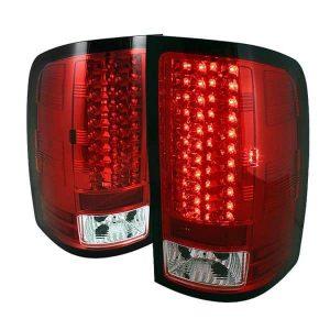 07-12 GMC Sierra Pickup Truck LED Tail Lights – Red